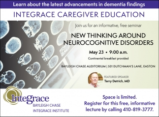 Integrace Caregiver Education