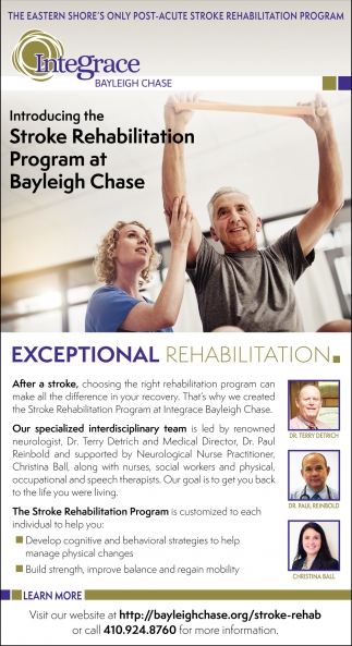 Stroke Rehabilitation Program
