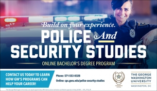 Police and Security Studies