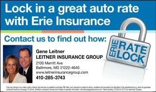 Lock in a great auto Rate!