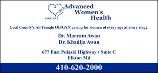 Advanced Womens Health