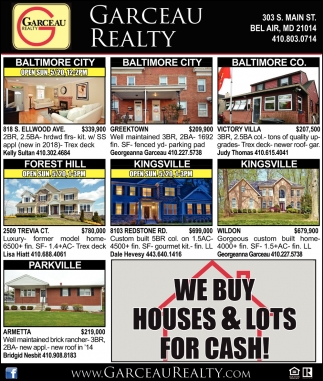 We Buy Houses & Lots for Cash!