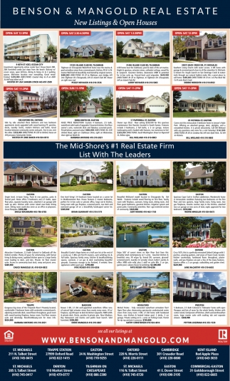 new listings open house benson mangold real estate chester md