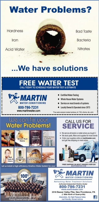 Water Problems?