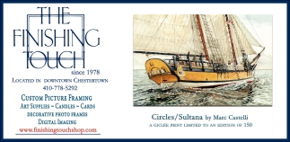 Custom Picture Framing, The Finishing Touch, Chestertown, MD