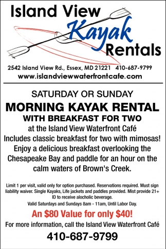 Island View Kayak Rentals