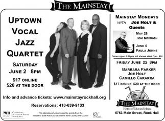 Uptown Vocal Jazz Quartet