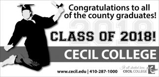 Congratulations to All of the County Graduates!
