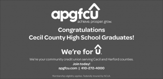 Congratulations Cecil County High School Graduates