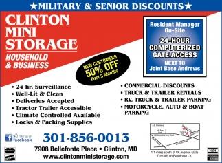 Military & Senior Discounts
