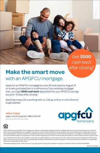 Make the Smart Move with an APGFCU Mortgage