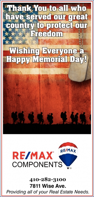 Thank Ýou to all who Have Served Our Great Country to Protect our Freedom