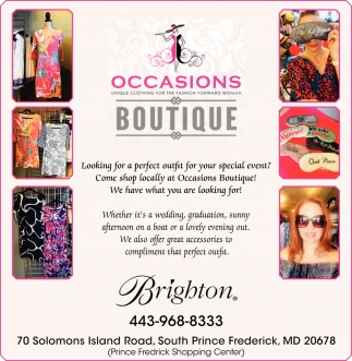 Looking for a Perfect Outfit for Your Special Event?