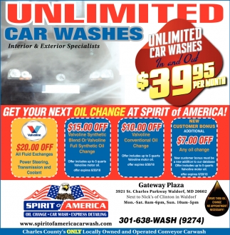 Unlimited Car Washes