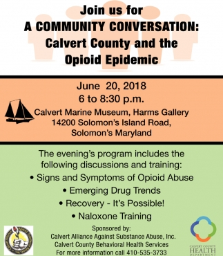 Calvert County and the Opioid Epidemic