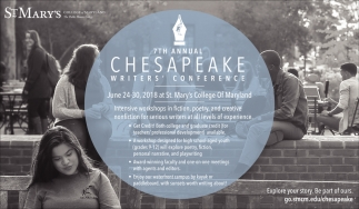 7th Chesapeak Writer's Conference
