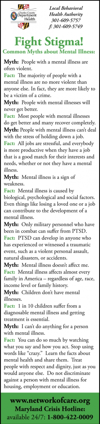 Fight Stigma!