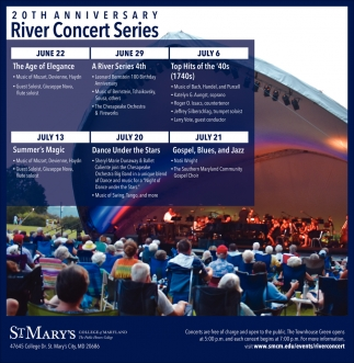 20th Anniversary River Concert Series