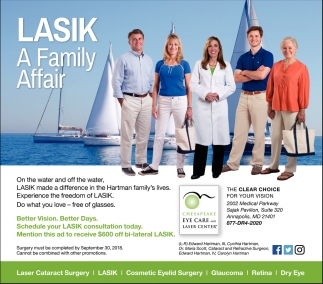 Lasik A Family Affair