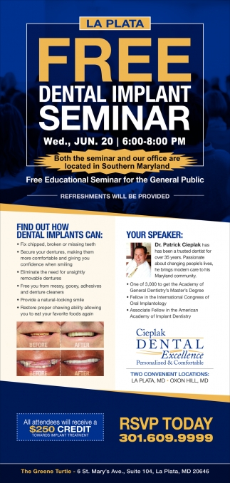 FREE Dental Implant Seminar