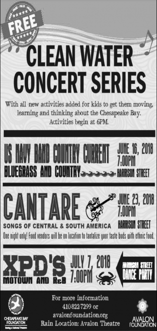 Clean Water Concert Series