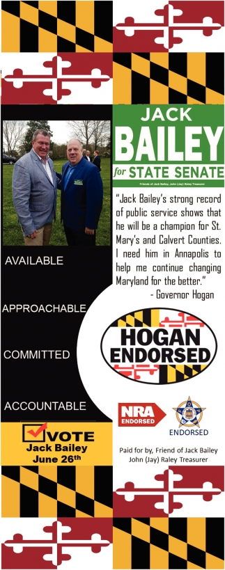 Jack Bailey for State Senate