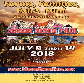 Farms, Families, Fairs, Fun!