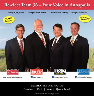 Re-Elect Team 36- Your Voice in Annapolis