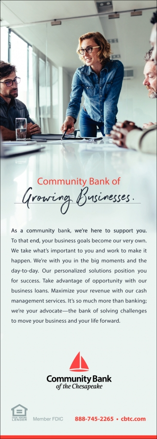 Community Bank Of Growing Businesses
