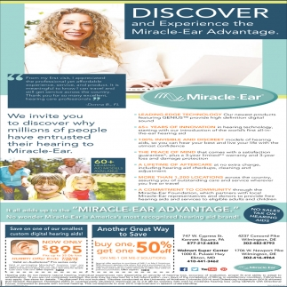 Discover and Experience the MiracleEar Advantage