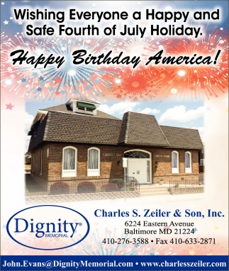 Wishing Everyone a Happy and Safe Fourth of July Holiday