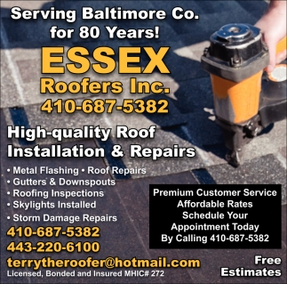 High-quality Roof Installation & Repairs