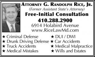 Free-Initial Consultation