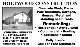 Holtwood Construction
