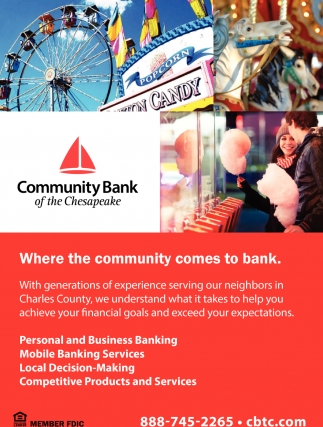 Where the Community Come to Bank