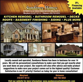 Kitchen Bathroom Remodeling Services Sundance Custom Homes New Bathroom Remodeling Md Exterior