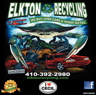 We Buy Junk Cars & Scrap Metal, Elkton Recycling, Elkton, MD