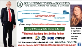 Award Winning Safe Money Advisor