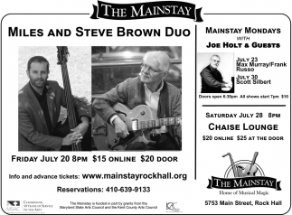 Miles and Steve Brown Duo