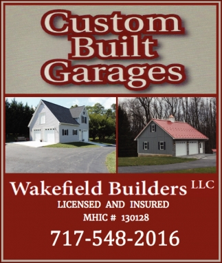 Custom Built Garages