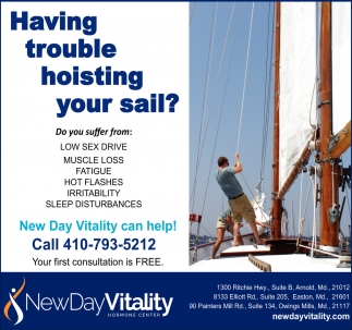 Having Trouble Hoisting your Sail?