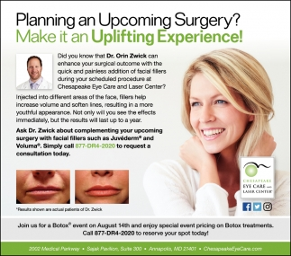 Planning Upcoming Surgery?