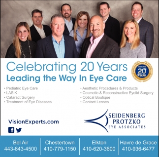 Celebrating 20 Years Leading the Way in Eye Care