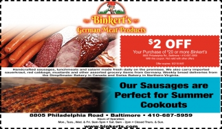 Our Sausages are Perfect for Summer Cookouts