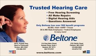 Trusting Hearing Care