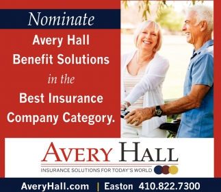 Nominate Avery Hall Benefit Solutions