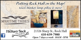 Putting Rock Hall On The Map The Hickory Stick A Vintage Boutique