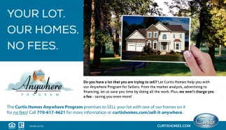 Your Lot. Our Homes. No Fees.