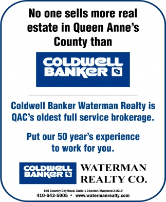 No One Sells More Real Estate in Queen Anne's County