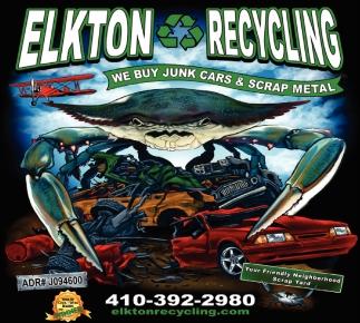 We Buy Junk Cars & Scrap Metal, Elkton Recycling, Elkton, MD